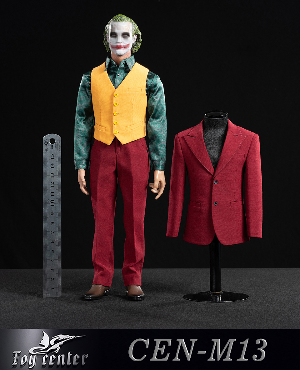 clothes - NEW PRODUCT: Toy center: 1/6 Clown exclusive red suit CEN-M13# 22332710