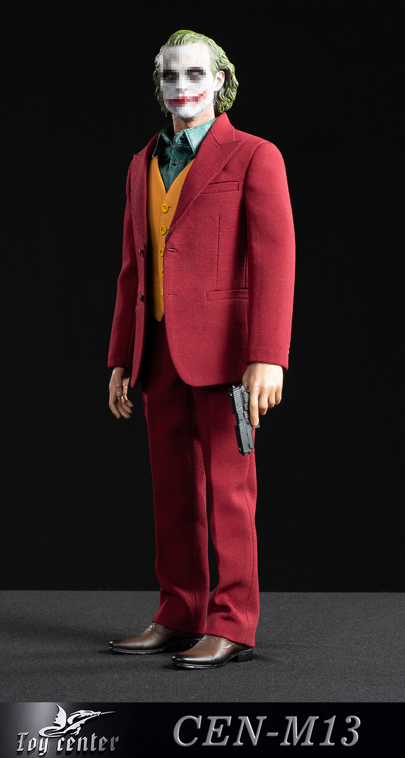 clothes - NEW PRODUCT: Toy center: 1/6 Clown exclusive red suit CEN-M13# 22333010