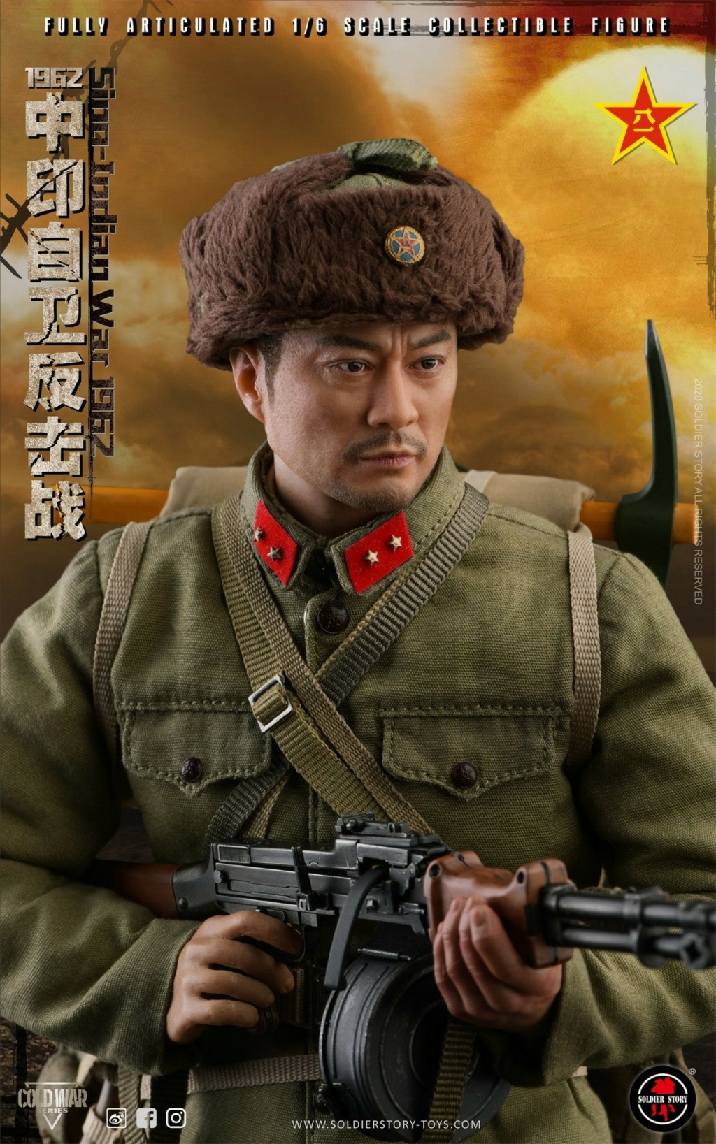 "NEW PRODUCT: SoldierStory: 1/6 ""1962 Sino-Indian Self-Defense Counterattack"" Action Figure #SS121 22333610"