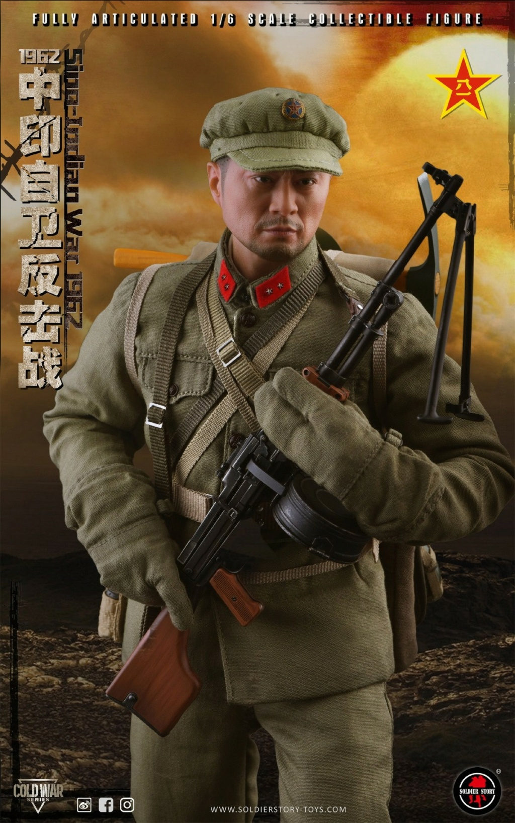 "NEW PRODUCT: SoldierStory: 1/6 ""1962 Sino-Indian Self-Defense Counterattack"" Action Figure #SS121 22334510"