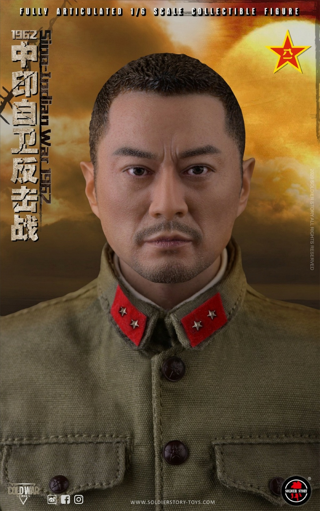 "NEW PRODUCT: SoldierStory: 1/6 ""1962 Sino-Indian Self-Defense Counterattack"" Action Figure #SS121 22341211"