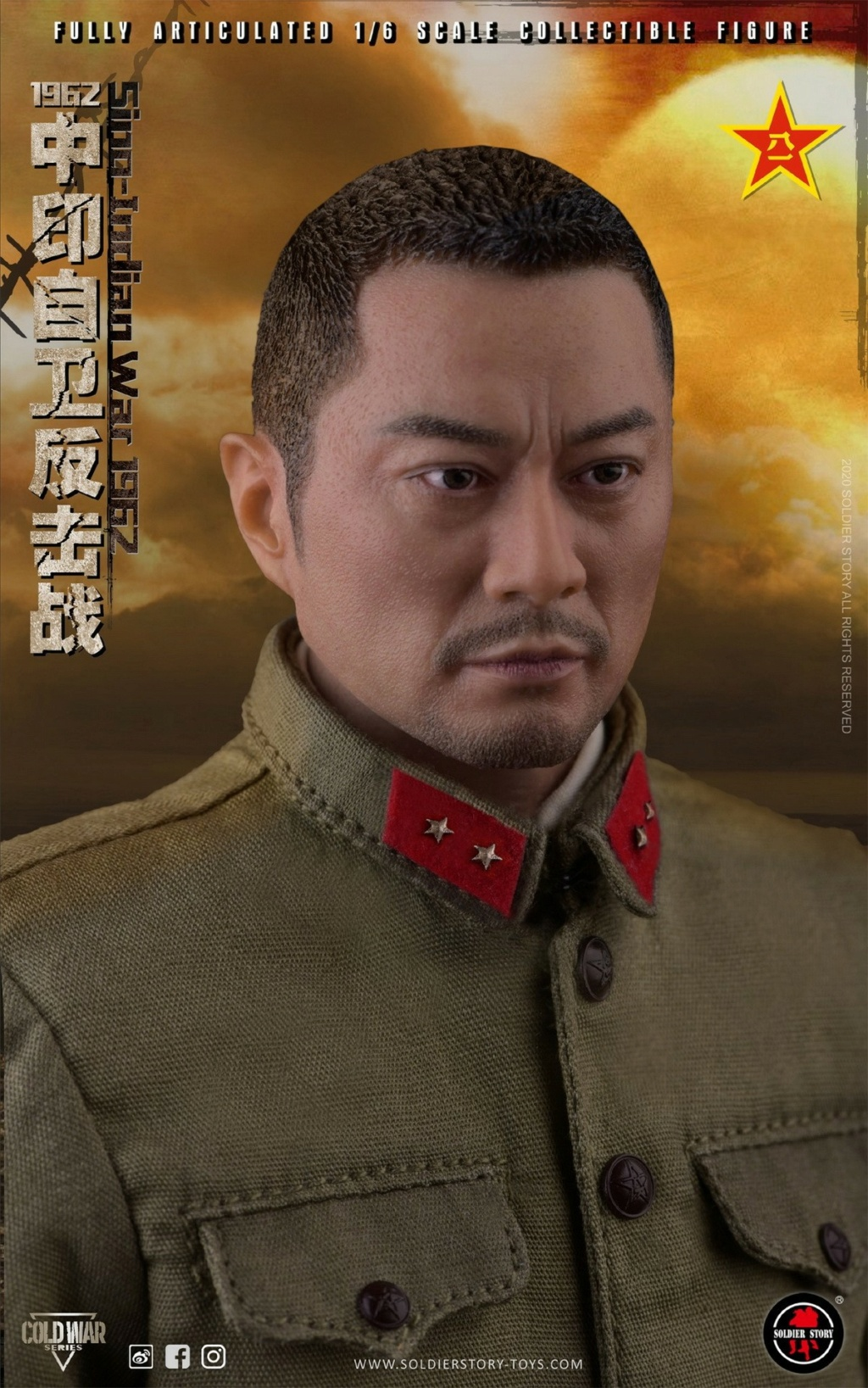 "NEW PRODUCT: SoldierStory: 1/6 ""1962 Sino-Indian Self-Defense Counterattack"" Action Figure #SS121 22341911"