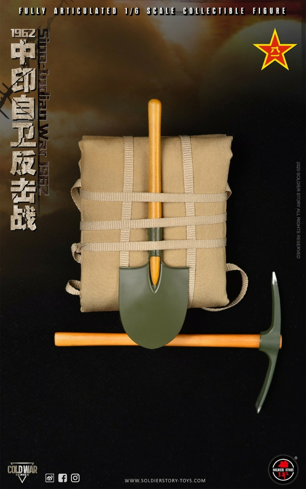 "NEW PRODUCT: SoldierStory: 1/6 ""1962 Sino-Indian Self-Defense Counterattack"" Action Figure #SS121 22343610"
