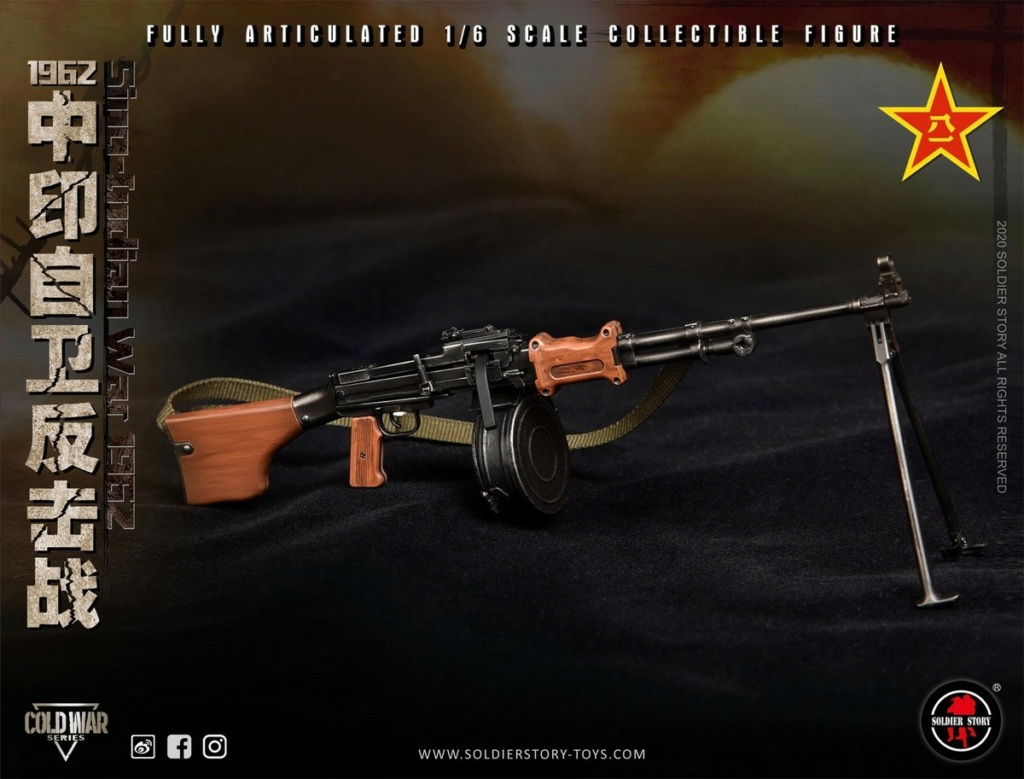 "NEW PRODUCT: SoldierStory: 1/6 ""1962 Sino-Indian Self-Defense Counterattack"" Action Figure #SS121 22350211"