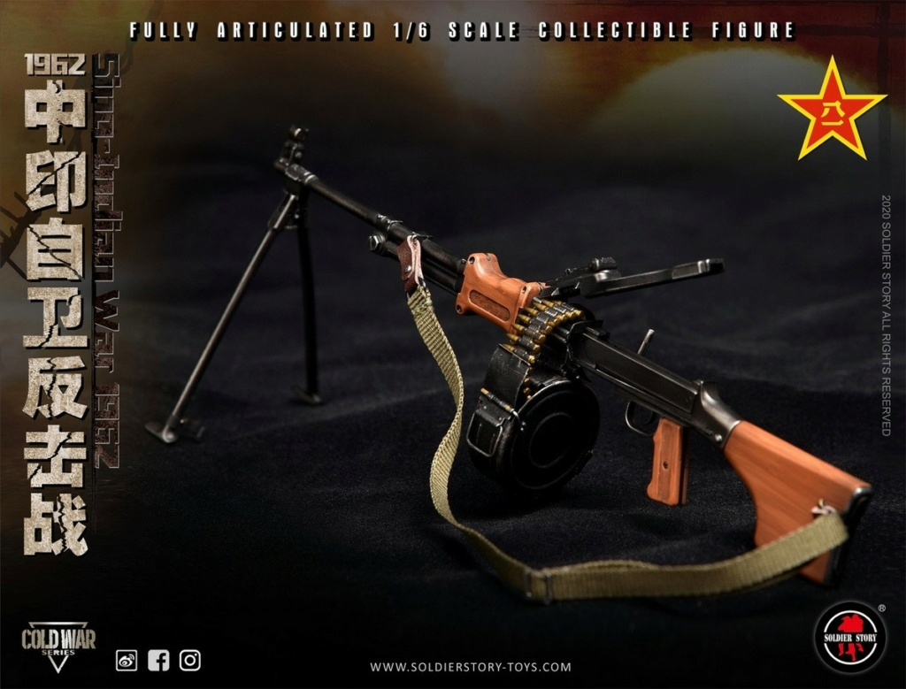 "NEW PRODUCT: SoldierStory: 1/6 ""1962 Sino-Indian Self-Defense Counterattack"" Action Figure #SS121 22350612"