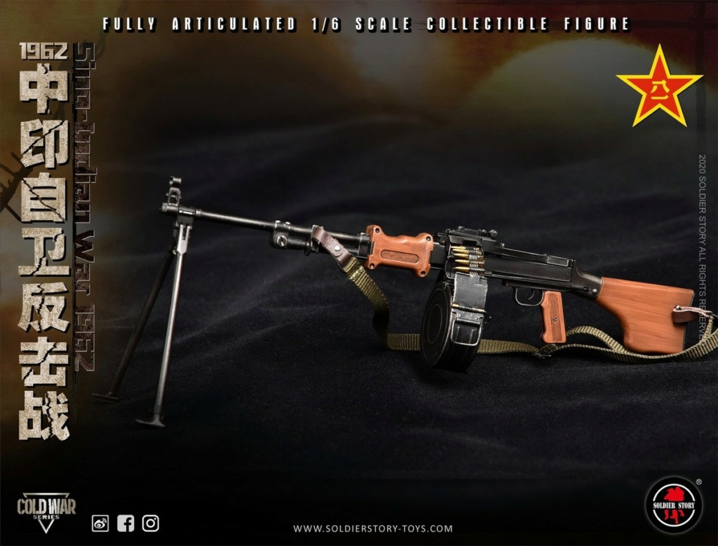 "NEW PRODUCT: SoldierStory: 1/6 ""1962 Sino-Indian Self-Defense Counterattack"" Action Figure #SS121 22351010"