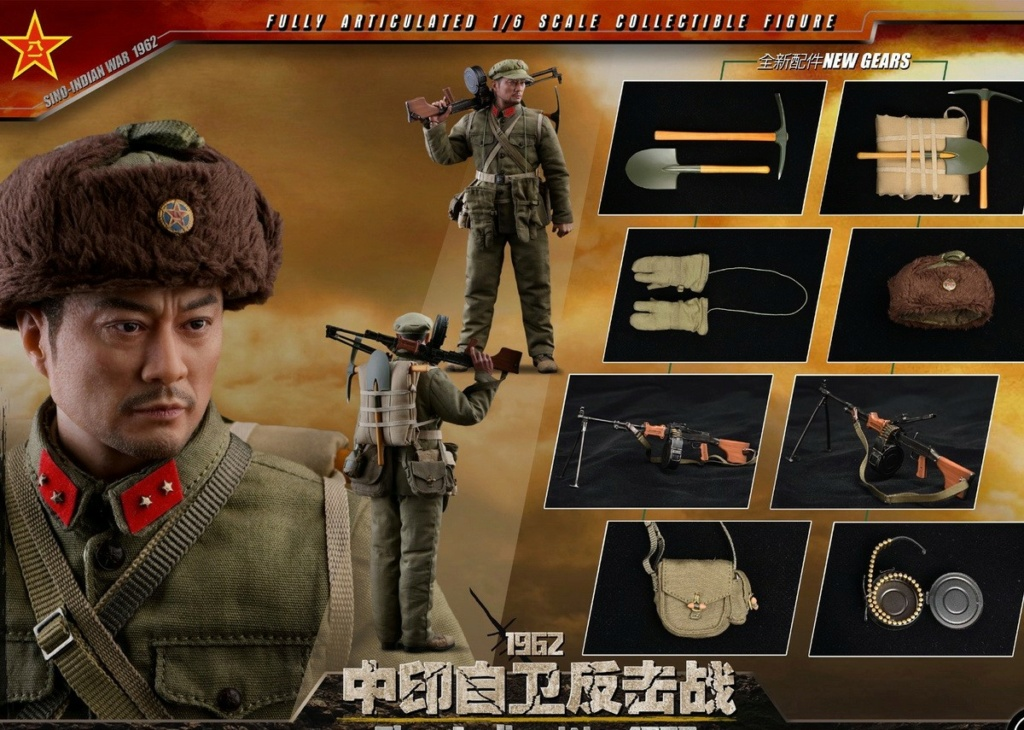 "NEW PRODUCT: SoldierStory: 1/6 ""1962 Sino-Indian Self-Defense Counterattack"" Action Figure #SS121 22352410"