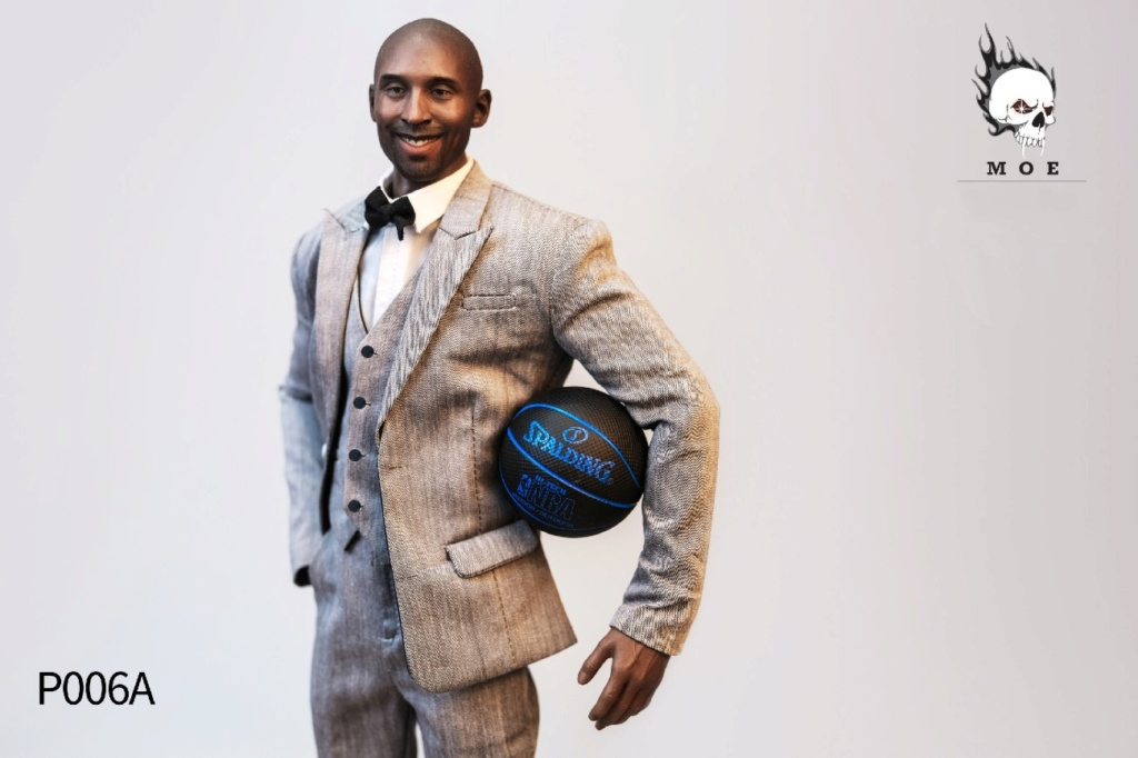 basketball - NEW PRODUCT: MOEToys: 1/6 suits (including black head carvings)-a total of three P006ABC 22430010