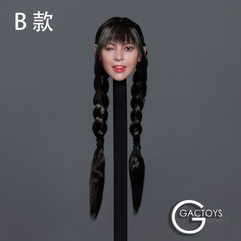 headsculpt - NEW PRODUCT: GACTOYS: 1/6 Cute Selling Cute Girl Head Sculpture [GC036] [A, B, C, D, 4 models] 22453611