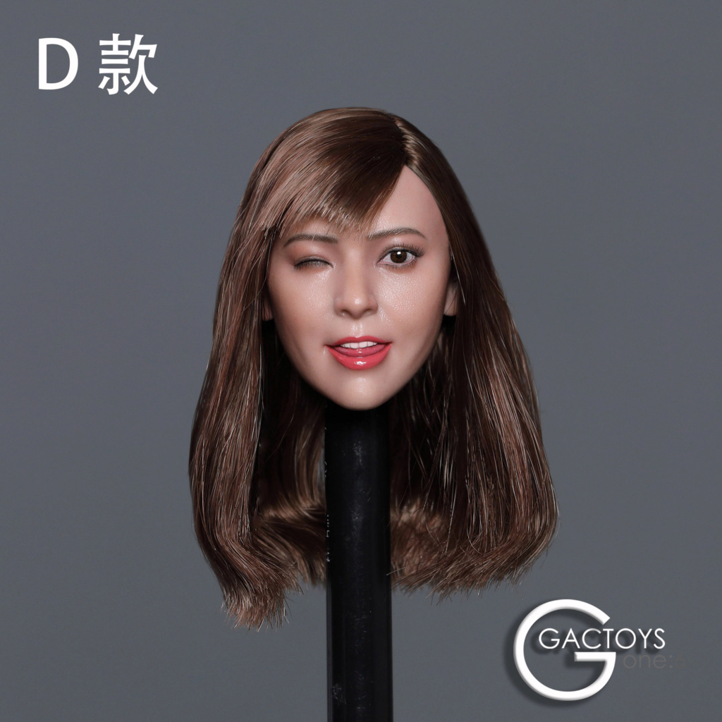 headsculpt - NEW PRODUCT: GACTOYS: 1/6 Cute Selling Cute Girl Head Sculpture [GC036] [A, B, C, D, 4 models] 22453613