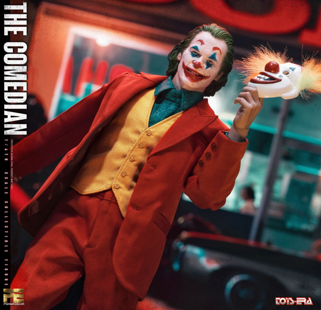 NEW PRODUCT: TOYS ERA: 1/6 Comedian The Comedian Movable PE004# 22471310