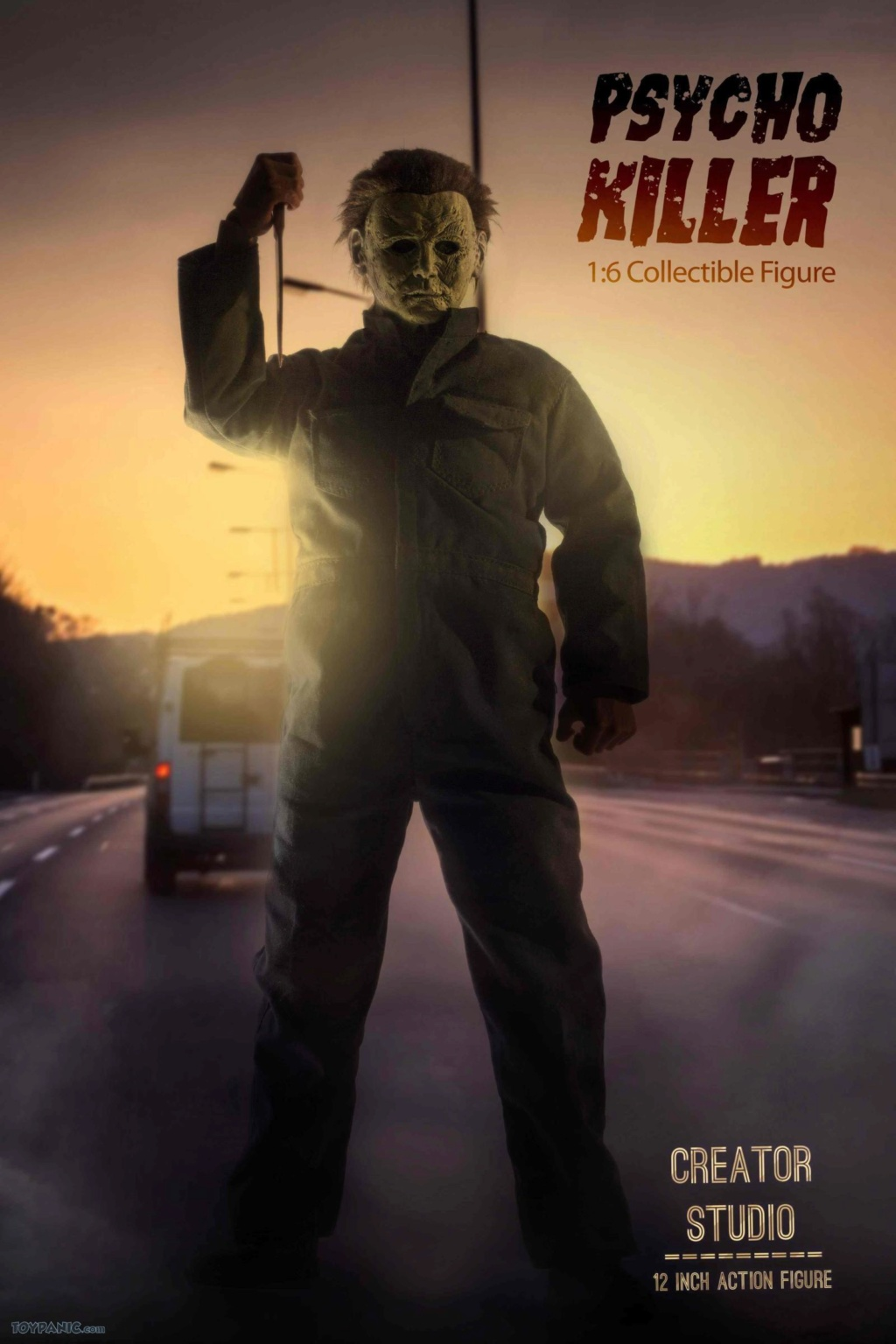 horror - NEW PRODUCT: Creator Studio: 1/6 Psycho Killer Action Figure  Code: CS-002 22620110