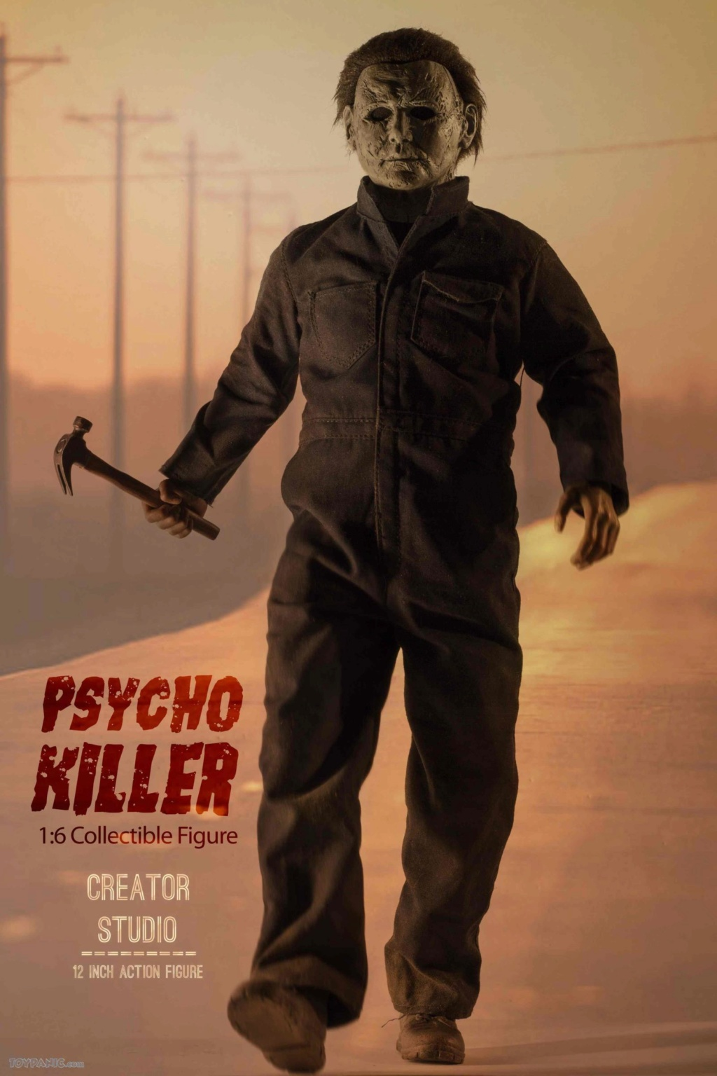 horror - NEW PRODUCT: Creator Studio: 1/6 Psycho Killer Action Figure  Code: CS-002 22620111