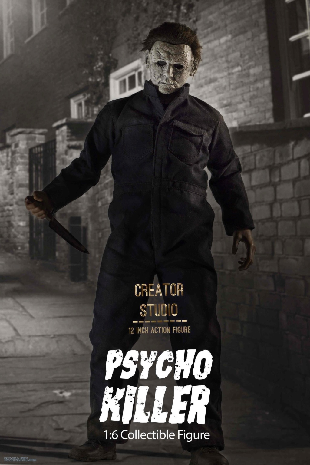 horror - NEW PRODUCT: Creator Studio: 1/6 Psycho Killer Action Figure  Code: CS-002 22620112