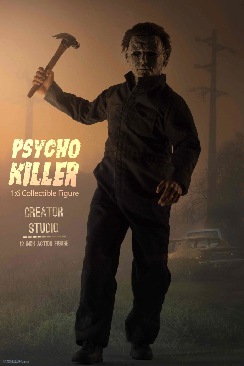 horror - NEW PRODUCT: Creator Studio: 1/6 Psycho Killer Action Figure  Code: CS-002 22620113
