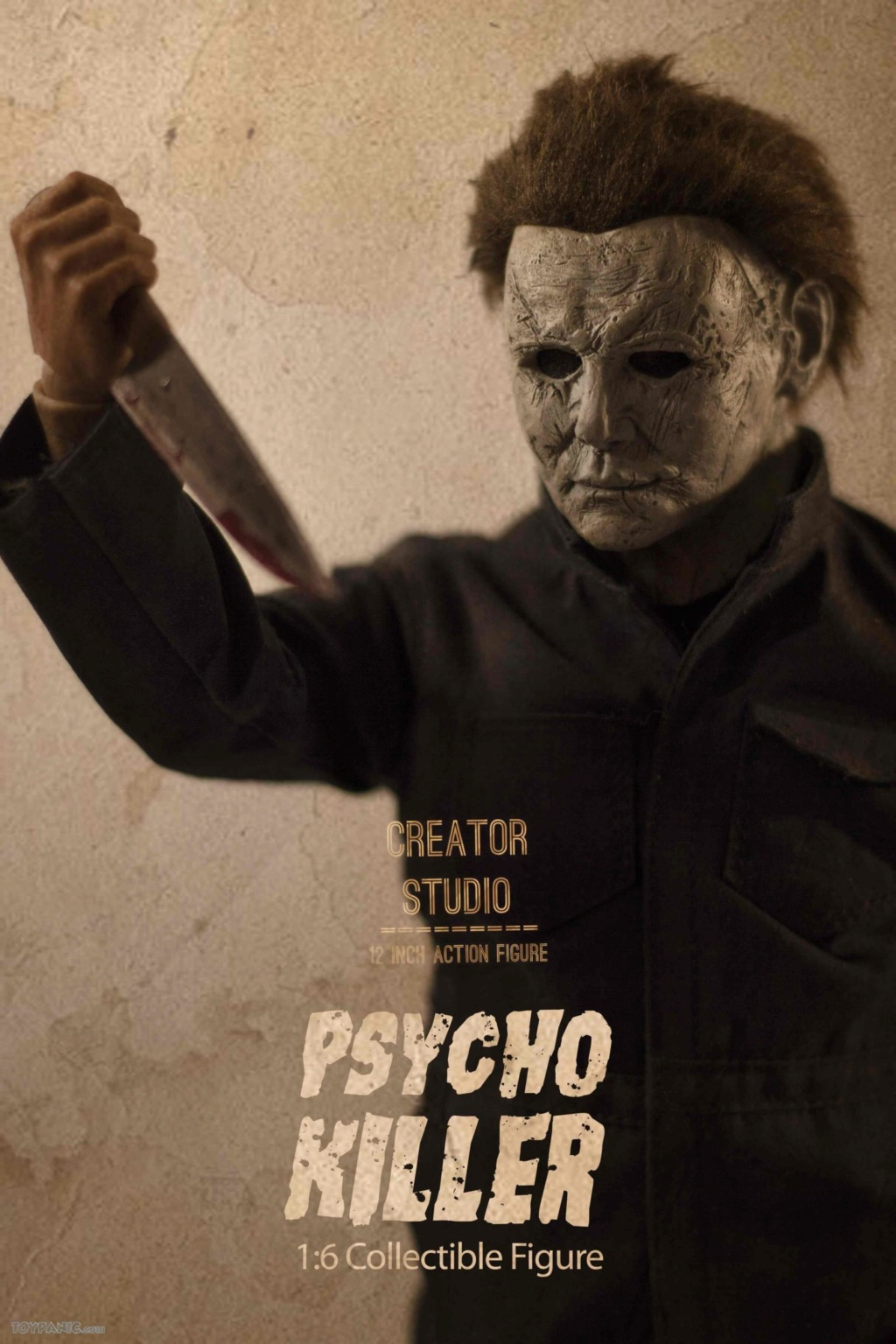 horror - NEW PRODUCT: Creator Studio: 1/6 Psycho Killer Action Figure  Code: CS-002 22620118