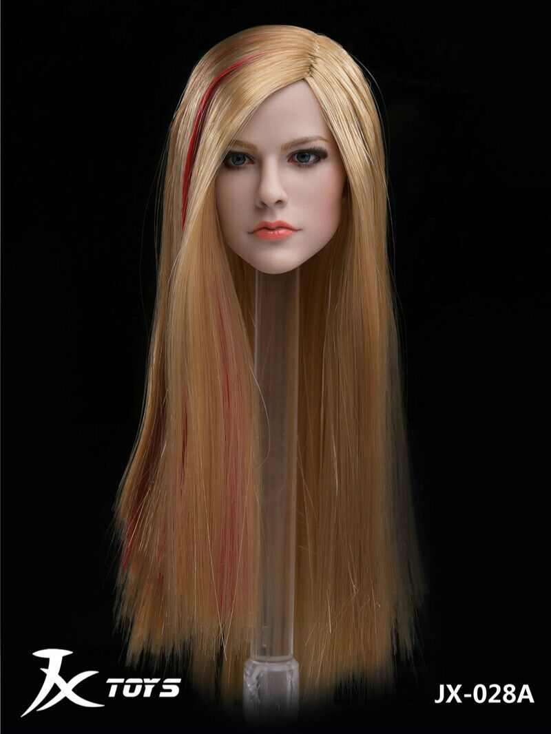 Avril - NEW PRODUCT: JXTOYS JX-029 Avril Head Sculpt H#Suntan 2273