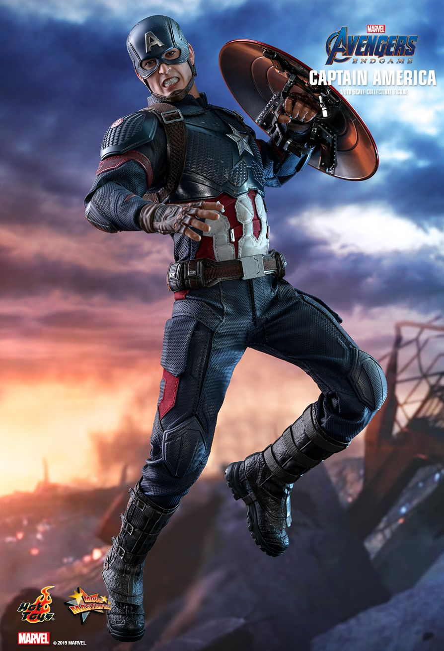 captainamerica - NEW PRODUCT: HOT TOYS: AVENGERS: ENDGAME CAPTAIN AMERICA 1/6TH SCALE COLLECTIBLE FIGURE 2283