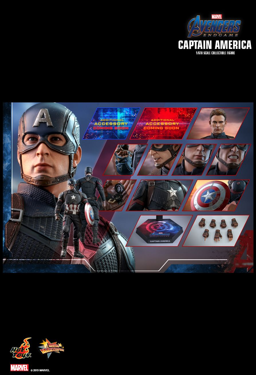 captainamerica - NEW PRODUCT: HOT TOYS: AVENGERS: ENDGAME CAPTAIN AMERICA 1/6TH SCALE COLLECTIBLE FIGURE 2284
