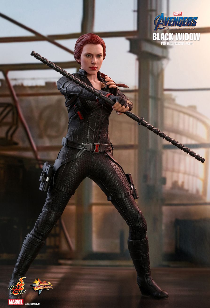 EndGame - NEW PRODUCT: HOT TOYS: AVENGERS: ENDGAME BLACK WIDOW 1/6TH SCALE COLLECTIBLE FIGURE 2285