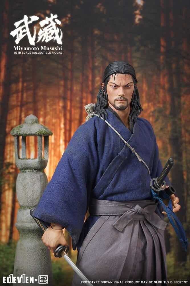 NEW PRODUCT: Eleven X KAI Musashi 1/6 Scale Figure 2297