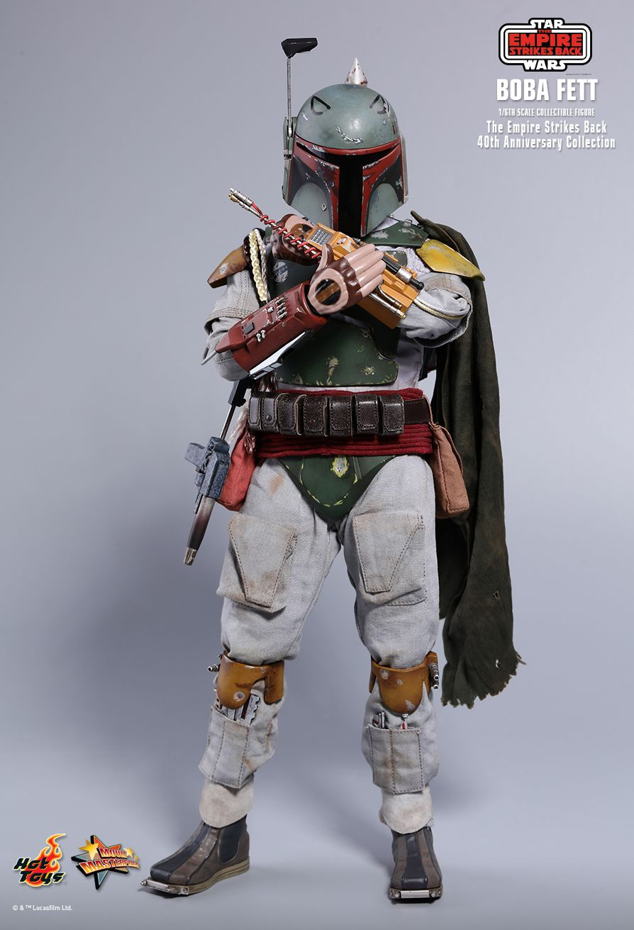 EmpireStrikesBack - NEW PRODUCT: HOT TOYS: STAR WARS: THE EMPIRE STRIKES BACK™ BOBA FETT™ (STAR WARS: THE EMPIRE STRIKES BACK 40TH ANNIVERSARY COLLECTION) 1/6TH SCALE COLLECTIBLE FIGURE 22e32d10