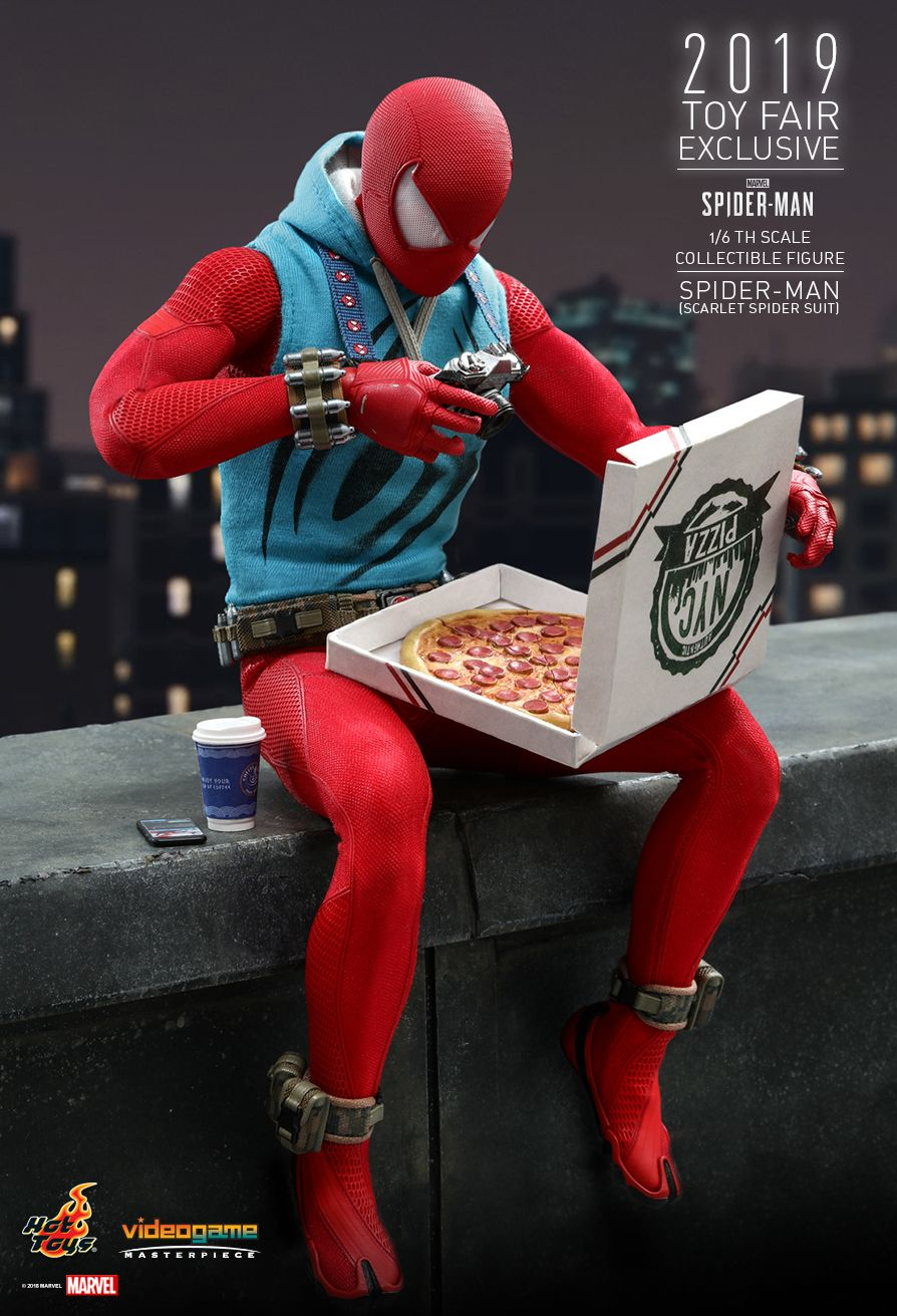 marvel - NEW PRODUCT: HOT TOYS: MARVEL'S SPIDER-MAN SPIDER-MAN (SCARLET SPIDER SUIT) 1/6TH SCALE COLLECTIBLE FIGURE 2305