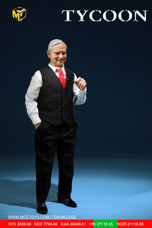 NEW PRODUCT: MCCTOYS: 1/6 Wealth Doll Series - Financial Tycoon Movables MCC022# 23054613