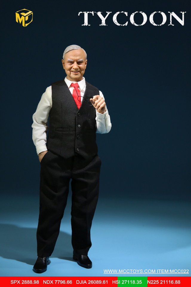 NEW PRODUCT: MCCTOYS: 1/6 Wealth Doll Series - Financial Tycoon Movables MCC022# 23054712