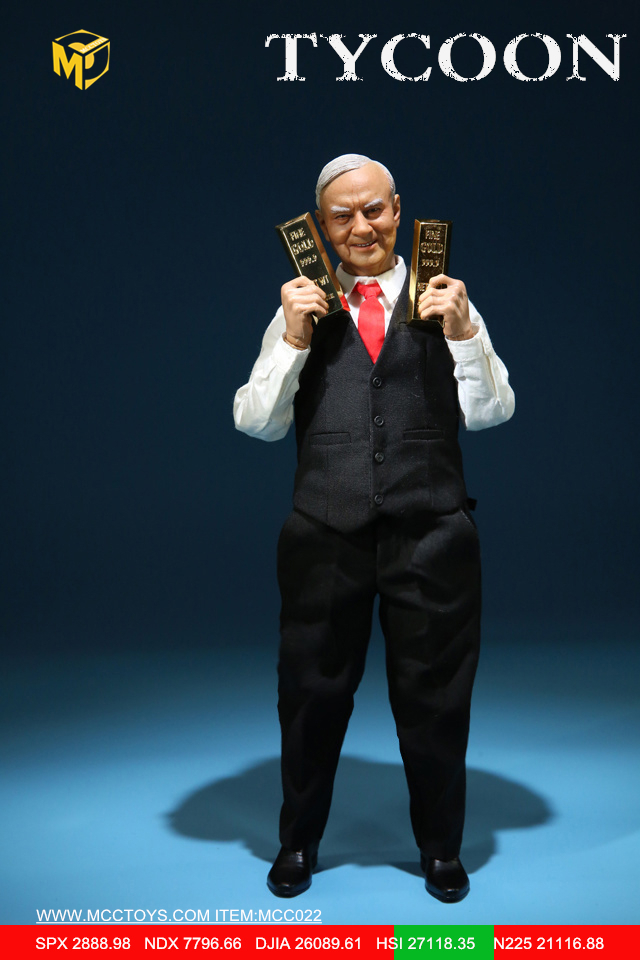 NEW PRODUCT: MCCTOYS: 1/6 Wealth Doll Series - Financial Tycoon Movables MCC022# 23054811
