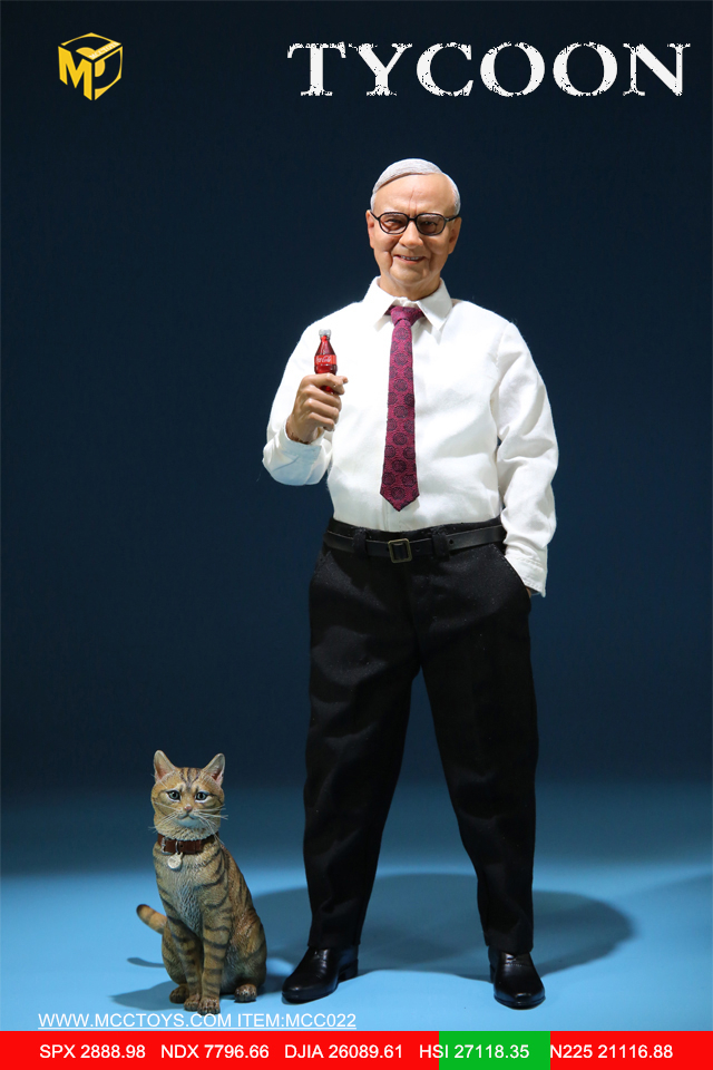 NEW PRODUCT: MCCTOYS: 1/6 Wealth Doll Series - Financial Tycoon Movables MCC022# 23055012