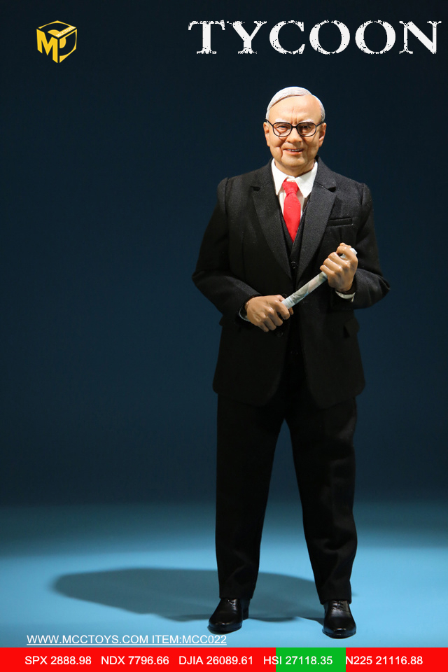 NEW PRODUCT: MCCTOYS: 1/6 Wealth Doll Series - Financial Tycoon Movables MCC022# 23055412