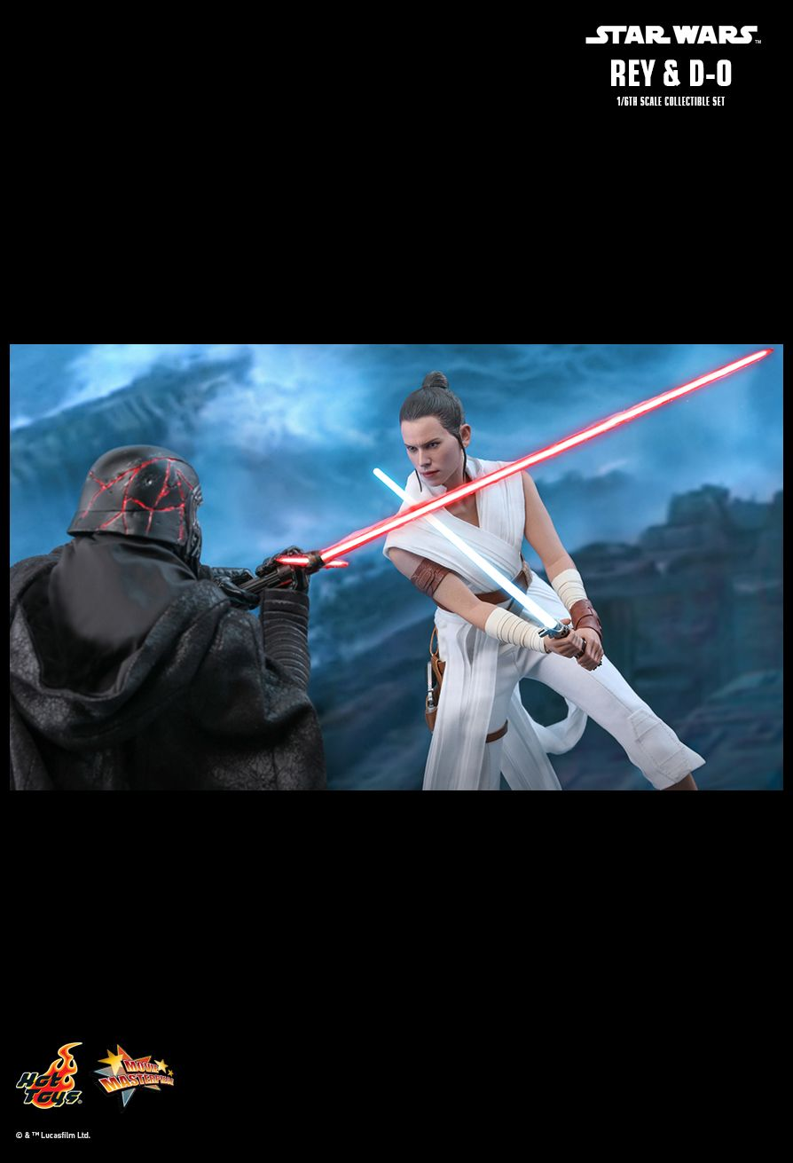 movie - NEW PRODUCT: HOT TOYS: STAR WARS: THE RISE OF SKYWALKER REY AND D-O 1/6TH SCALE COLLECTIBLE FIGURE 23102
