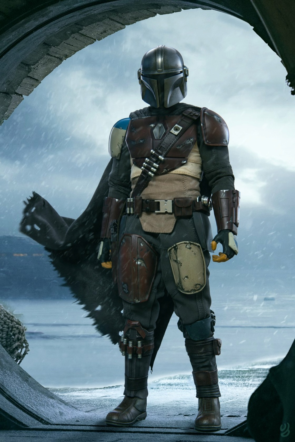NEW PRODUCT: HOT TOYS: THE MANDALORIAN -- THE MANDALORIAN 1/6TH SCALE COLLECTIBLE FIGURE 23125