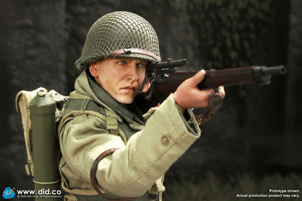 DiD - NEW PRODUCT: DiD: A80144 WWII US 2nd Ranger Battalion Series 4 Private Jackson 23132