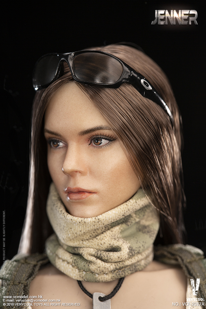 Dog - NEW PRODUCT: VERYCOOL new product: 1/6 ruin camouflage double female soldier - Jenna JENNER movable doll - A section & B section + German shepherd 23180510