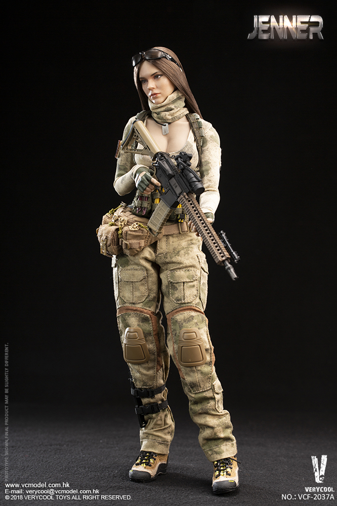 Dog - NEW PRODUCT: VERYCOOL new product: 1/6 ruin camouflage double female soldier - Jenna JENNER movable doll - A section & B section + German shepherd 23180511