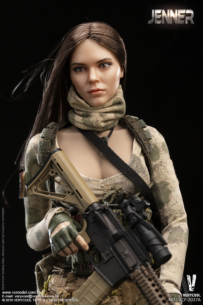 Dog - NEW PRODUCT: VERYCOOL new product: 1/6 ruin camouflage double female soldier - Jenna JENNER movable doll - A section & B section + German shepherd 23180610