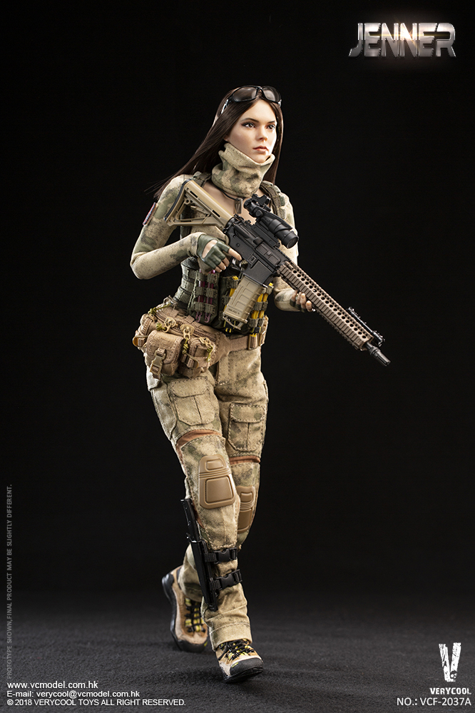 Dog - NEW PRODUCT: VERYCOOL new product: 1/6 ruin camouflage double female soldier - Jenna JENNER movable doll - A section & B section + German shepherd 23180710