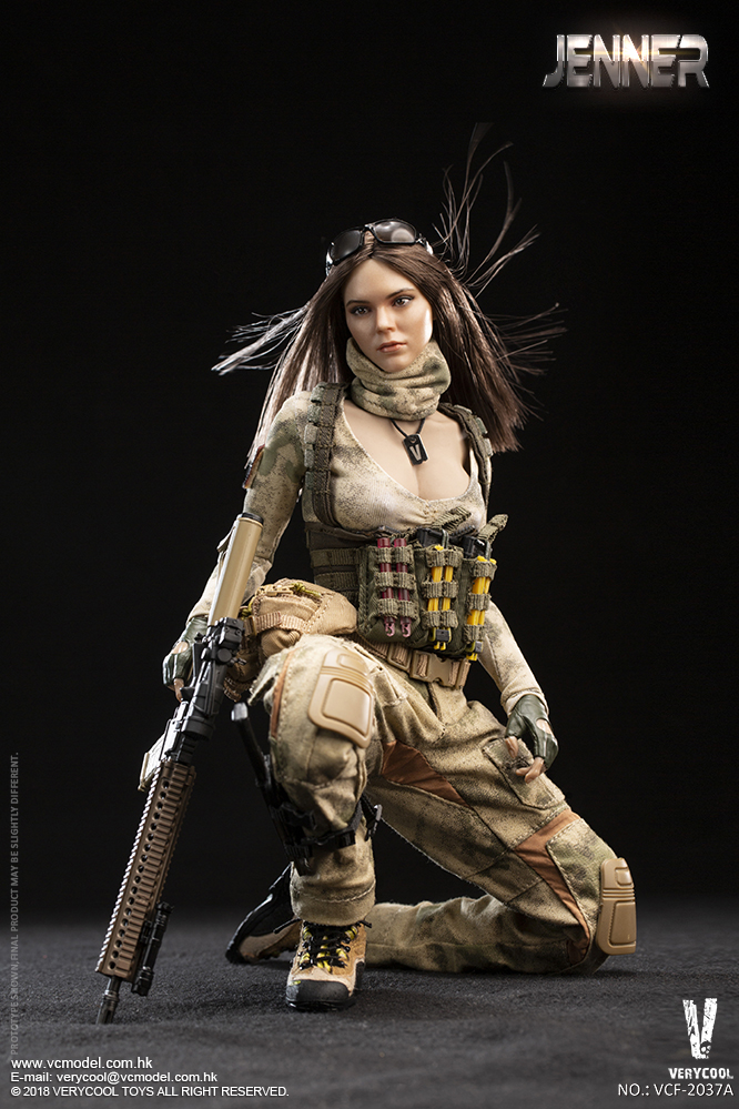 Dog - NEW PRODUCT: VERYCOOL new product: 1/6 ruin camouflage double female soldier - Jenna JENNER movable doll - A section & B section + German shepherd 23180711