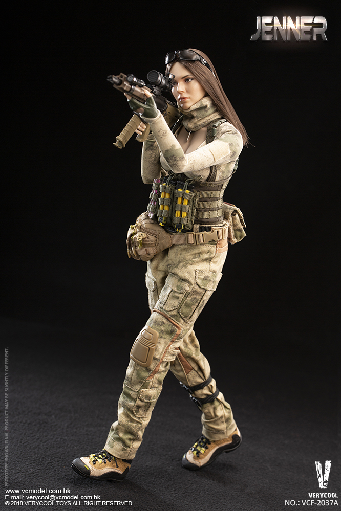 Dog - NEW PRODUCT: VERYCOOL new product: 1/6 ruin camouflage double female soldier - Jenna JENNER movable doll - A section & B section + German shepherd 23180810