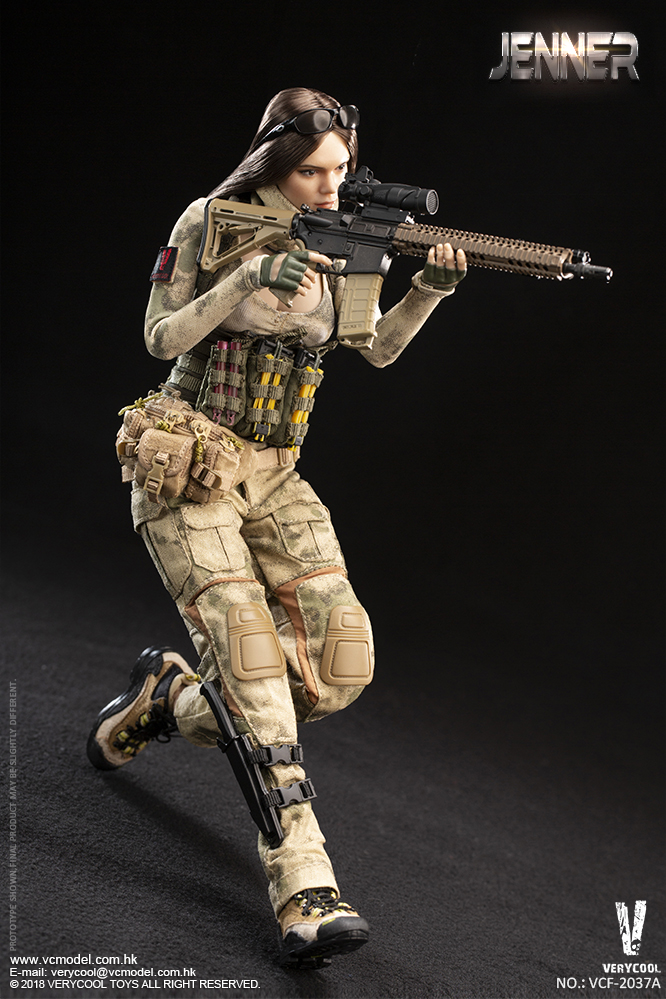 Dog - NEW PRODUCT: VERYCOOL new product: 1/6 ruin camouflage double female soldier - Jenna JENNER movable doll - A section & B section + German shepherd 23180910