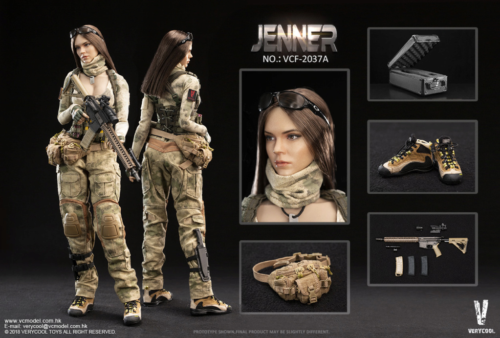 Dog - NEW PRODUCT: VERYCOOL new product: 1/6 ruin camouflage double female soldier - Jenna JENNER movable doll - A section & B section + German shepherd 23181310