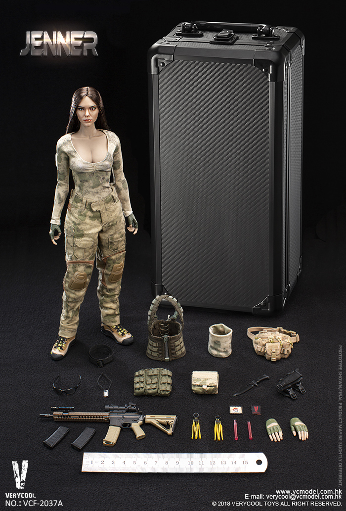 Dog - NEW PRODUCT: VERYCOOL new product: 1/6 ruin camouflage double female soldier - Jenna JENNER movable doll - A section & B section + German shepherd 23181410