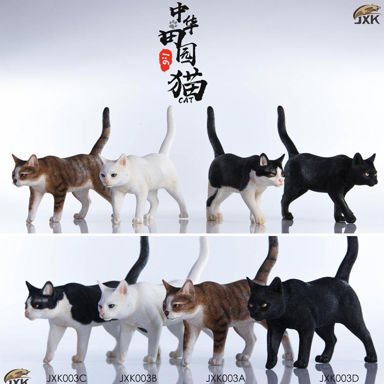 NEW PRODUCT: JXK New 1/6 Chinese Garden Cat Series JxK003 Decoration Static Animal Model 23184510