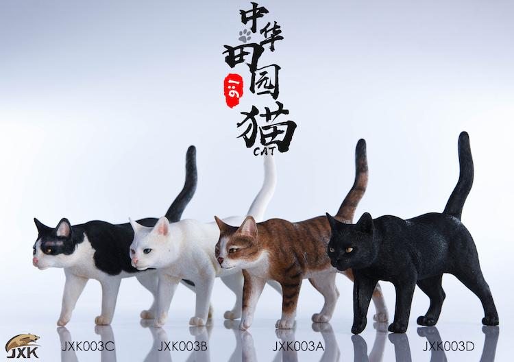 NEW PRODUCT: JXK New 1/6 Chinese Garden Cat Series JxK003 Decoration Static Animal Model 23185910