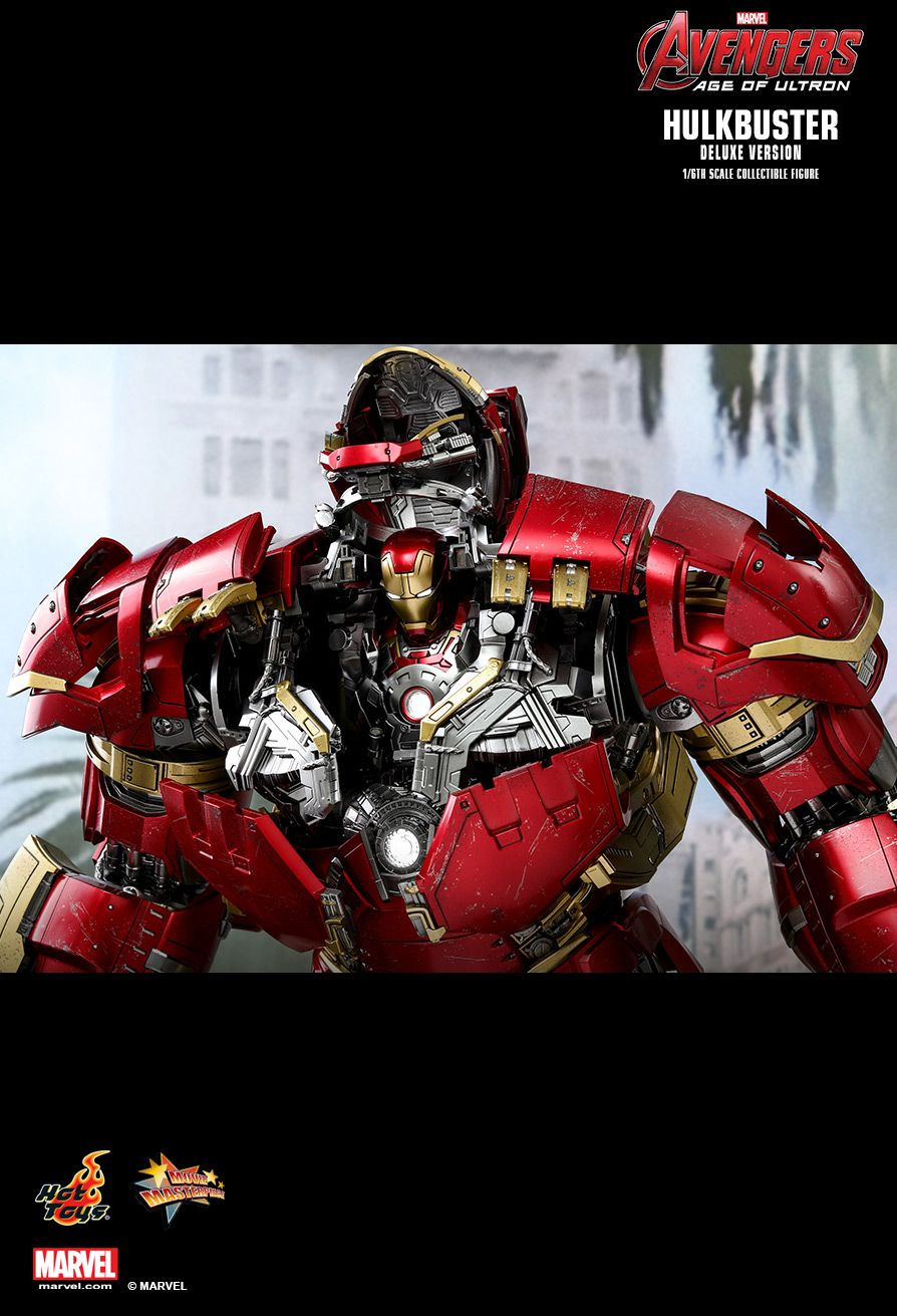 NEW PRODUCT: HOT TOYS: AVENGERS: AGE OF ULTRON HULKBUSTER (DELUXE VERSION) 1/6TH SCALE COLLECTIBLE FIGURE 2320