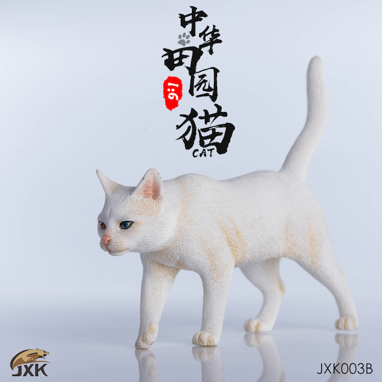 NEW PRODUCT: JXK New 1/6 Chinese Garden Cat Series JxK003 Decoration Static Animal Model 23204910