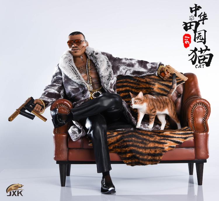 NEW PRODUCT: JXK New 1/6 Chinese Garden Cat Series JxK003 Decoration Static Animal Model 23220010