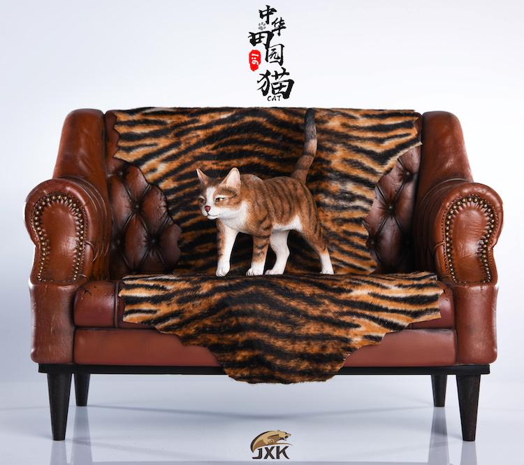 NEW PRODUCT: JXK New 1/6 Chinese Garden Cat Series JxK003 Decoration Static Animal Model 23222510